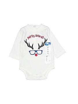 Okie Dokie Long Sleeve Onesie Newborn