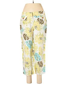 Nic + Zoe Linen Pants Size 10