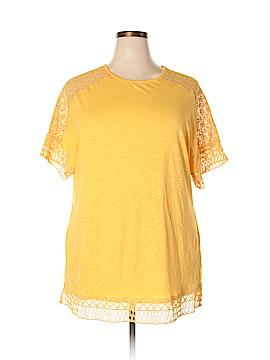 Hannah Short Sleeve T-Shirt Size 1X (Plus)