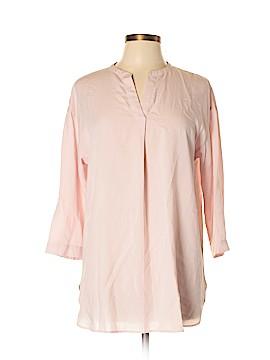 Uniqlo 3/4 Sleeve Blouse Size L