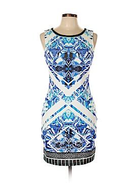 Peachpuff Casual Dress Size L