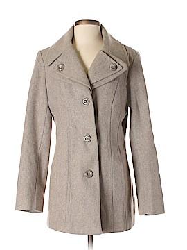 London Fog Women Wool Coat Size S