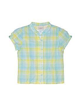 L.L.Bean Short Sleeve Button-Down Shirt Size 4