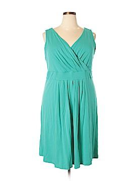 Lands' End Casual Dress Size 2X (Plus)