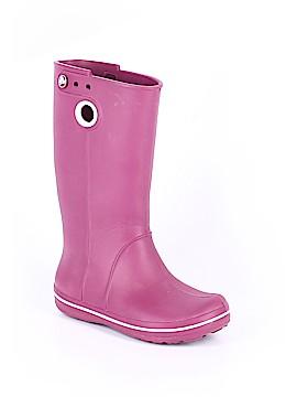 Crocs Rain Boots Size 4