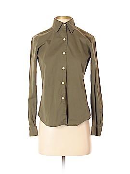 Jones New York Sport Long Sleeve Button-Down Shirt Size 2 (Petite)