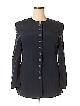 Valerie Stevens Silk Blazer Size 14