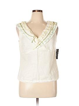 Nic + Zoe Short Sleeve Blouse Size 14