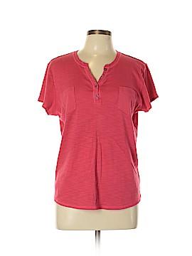 Liz Claiborne Short Sleeve Henley Size XL