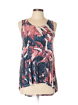 Rose & Olive Sleeveless Top Size M