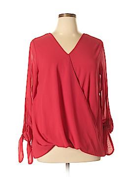 Unbranded Clothing 3/4 Sleeve Blouse Size XL