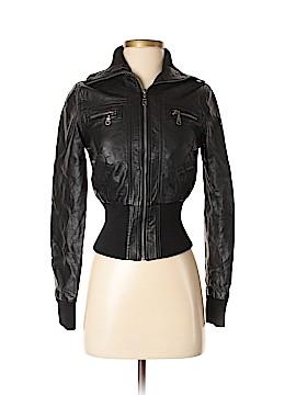 Delia's Faux Leather Jacket Size XS