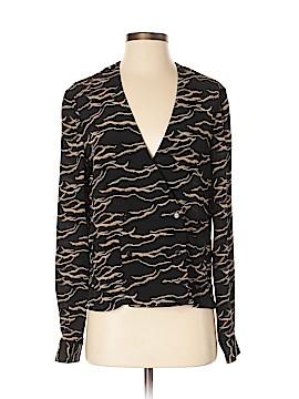 Rachel Comey Long Sleeve Silk Top Size 2