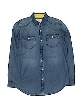 Tucker + Tate Long Sleeve Button-Down Shirt Size 14 - 16