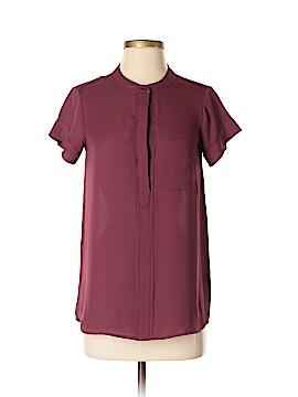 Simply Vera Vera Wang Short Sleeve Blouse Size XS