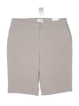 So Slimming by Chico's Khaki Shorts Size Lg (2.5)