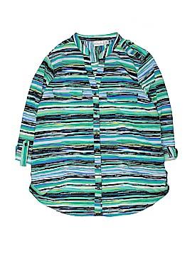 Kim Rogers 3/4 Sleeve Blouse Size L (Petite)