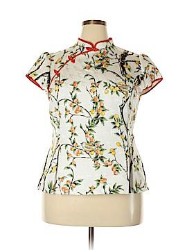 Hue Short Sleeve Blouse Size 4X (Plus)