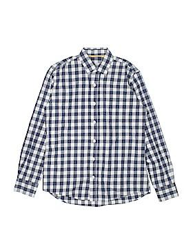 Mini Boden Long Sleeve Button-Down Shirt Size 11