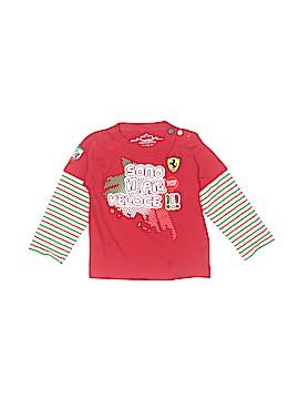 Ferrari Long Sleeve T-Shirt Size 12-18 mo
