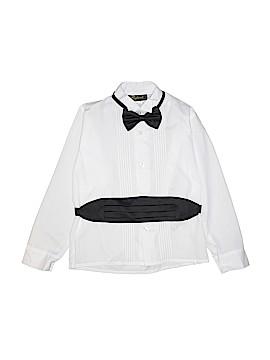 Rafael Long Sleeve Button-Down Shirt Size 10