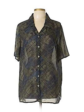 Worthington Short Sleeve Blouse Size 16