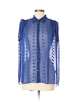 Zoa Short Sleeve Silk Top Size XS