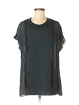 3.1 Phillip Lim Short Sleeve Silk Top Size 4