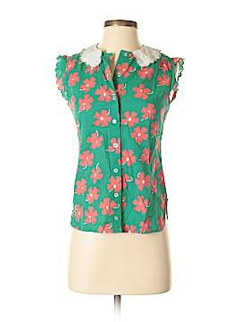 Manoush Short Sleeve Button-Down Shirt Size 38 (EU)