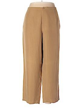Liz Claiborne Silk Pants Size 3 (Plus)
