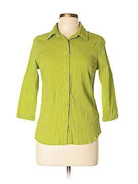 Breckenridge Long Sleeve Button-Down Shirt Size M