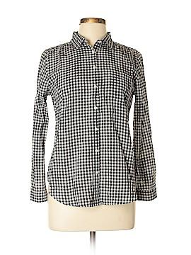 Ann Taylor Long Sleeve Button-Down Shirt Size M (Petite)