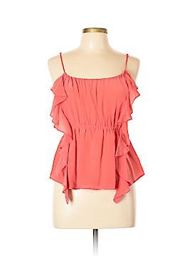 Ecote Sleeveless Silk Top Size L