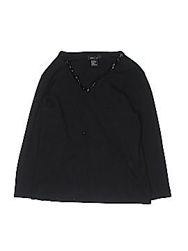 City Silk 3/4 Sleeve Silk Top Size M