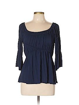 Studio M 3/4 Sleeve Blouse Size L