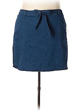 RACHEL Rachel Roy Denim Skirt Size 22w (Plus)