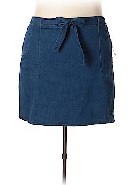 RACHEL Rachel Roy Denim Skirt Size 24w (Plus)