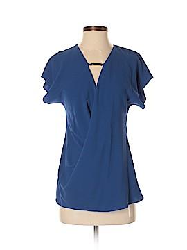 Halston Heritage Short Sleeve Blouse Size XS