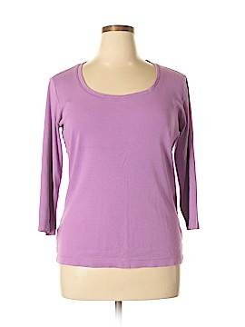 Eddie Bauer 3/4 Sleeve T-Shirt Size XL (Tall)