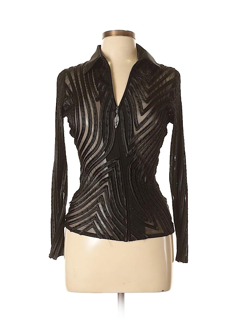 JS Boutique Women Long Sleeve Blouse Size 4