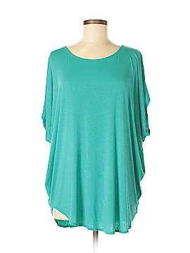 Lily Rain Short Sleeve Blouse Size M