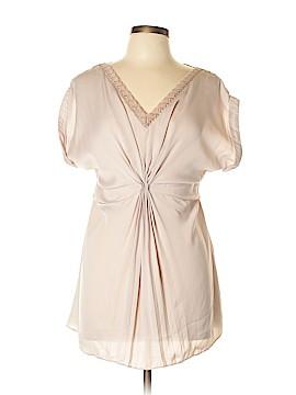 Luluvia Short Sleeve Blouse Size L