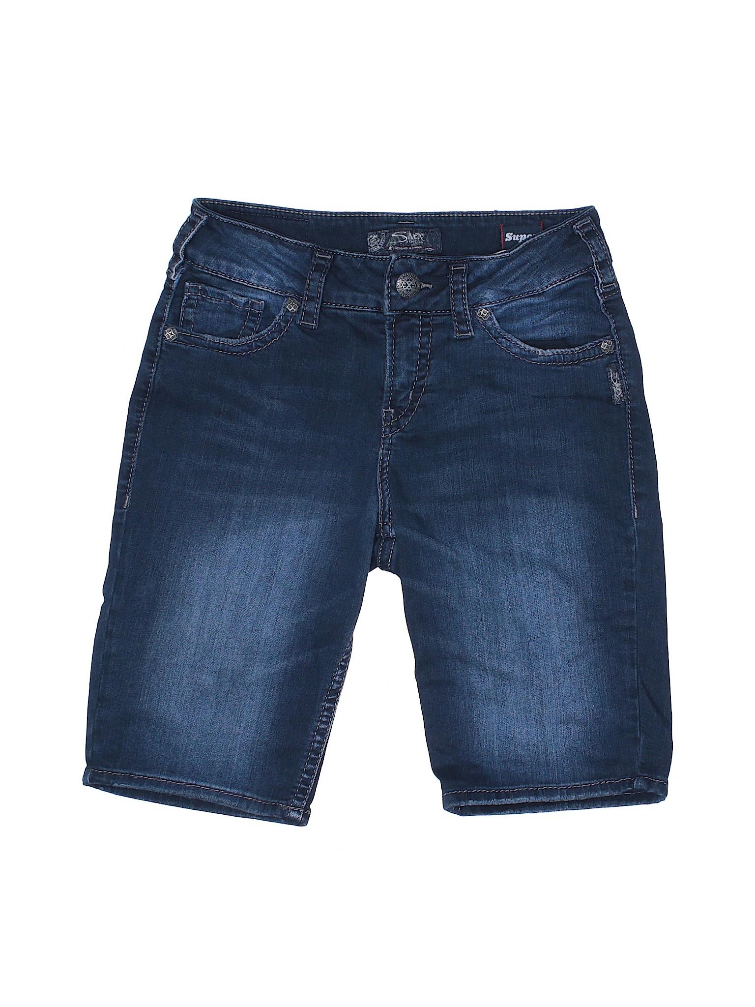Silver Co Shorts Jeans Denim leisure Boutique 50xtqRUR