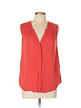 Hatley Sleeveless Button-Down Shirt Size L