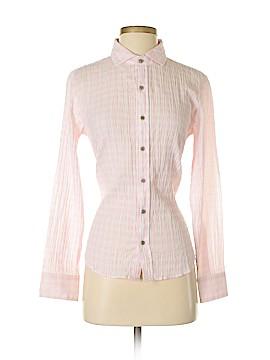 Fresh Produce Long Sleeve Button-Down Shirt Size S
