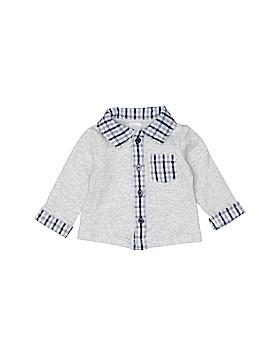 Miniclasix Long Sleeve Button-Down Shirt Size 3 mo