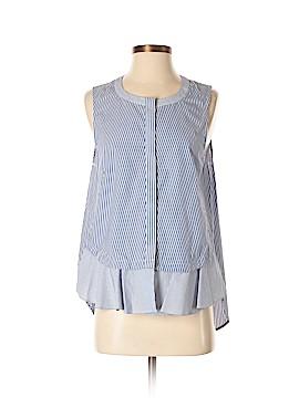 10 Crosby Derek Lam Sleeveless Button-Down Shirt Size 8