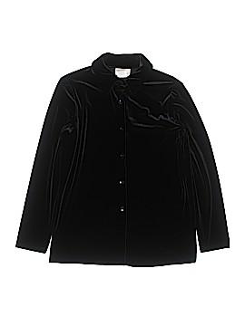Kathie Lee Long Sleeve Blouse Size M