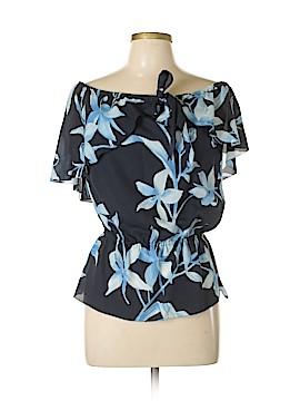 Escada Short Sleeve Silk Top Size 36 (EU)