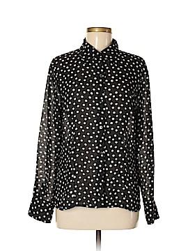 Rafaella Long Sleeve Blouse Size 10